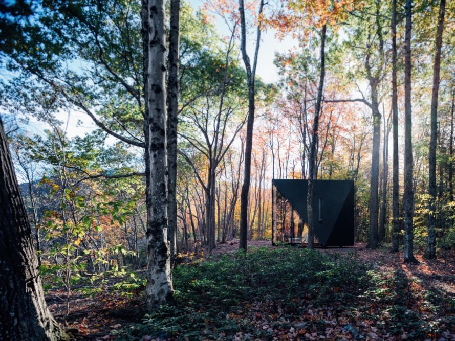 BIG designs a high-end tiny house that goes off-grid