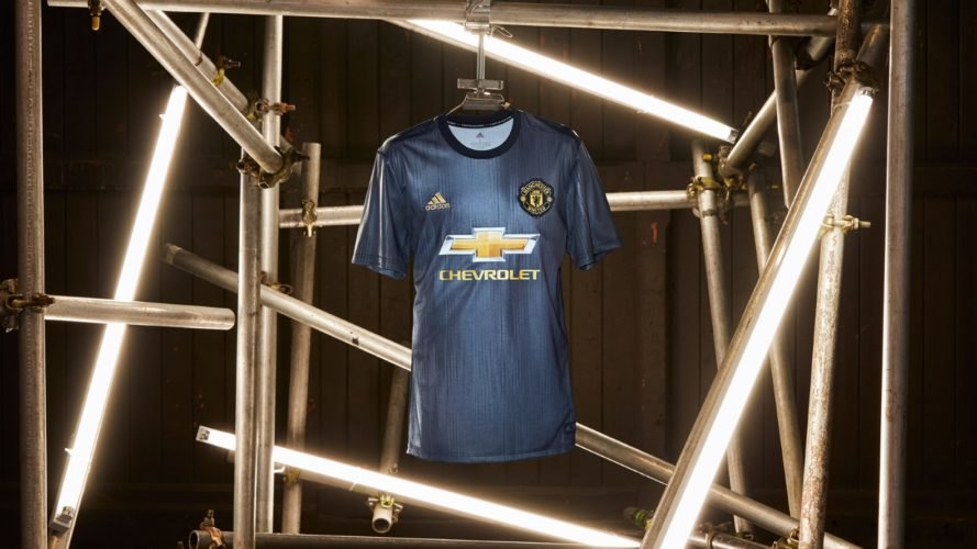 Adidas unveils a Manchester United jersey created with ocean plastic