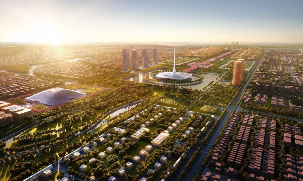 Foster Partners Masterplans The New Indian State Capital