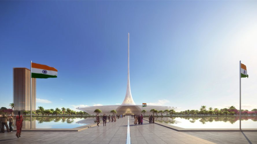 high court complex Amaravati by Foster + Partners