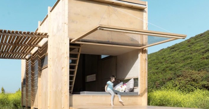 This tiny cabin on the Greece-Turkey border generates 100% of its own energy