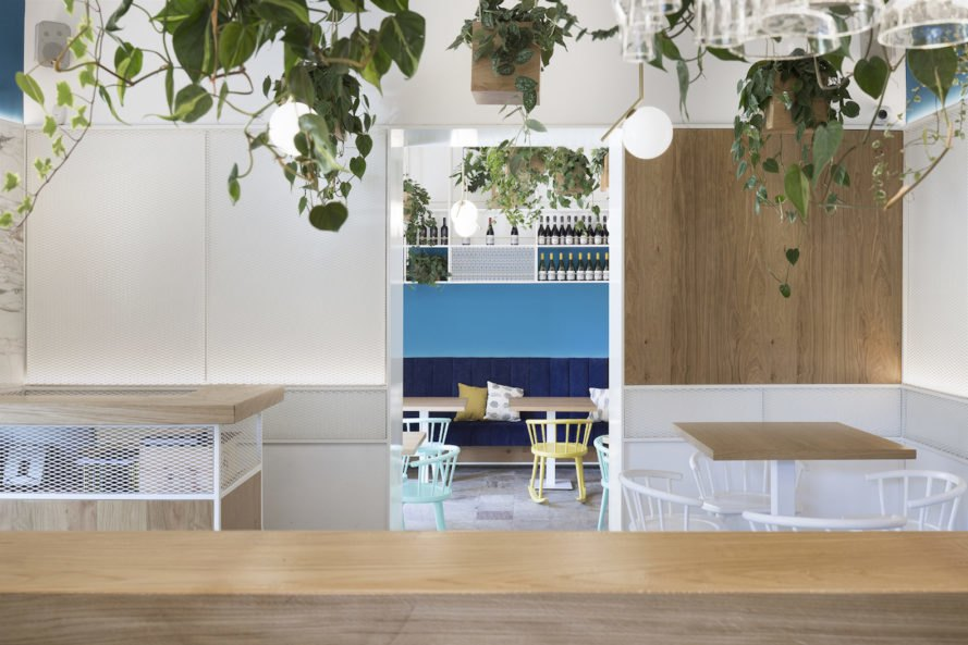view from bar Cento61 by Studio DiDeA