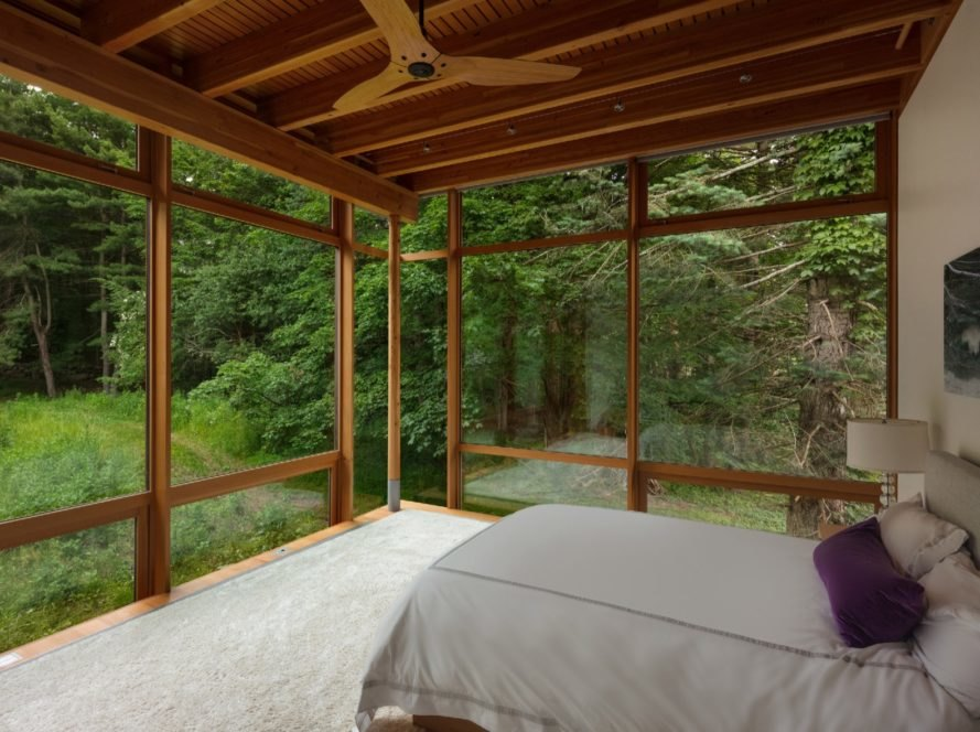 bedroom Connecticut Residence by Cutler Anderson Architects