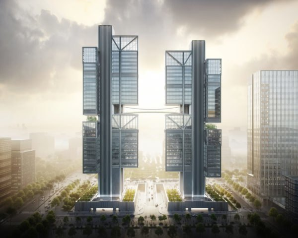 Shenzhen hq DJI Headquarters by Foster + Partners