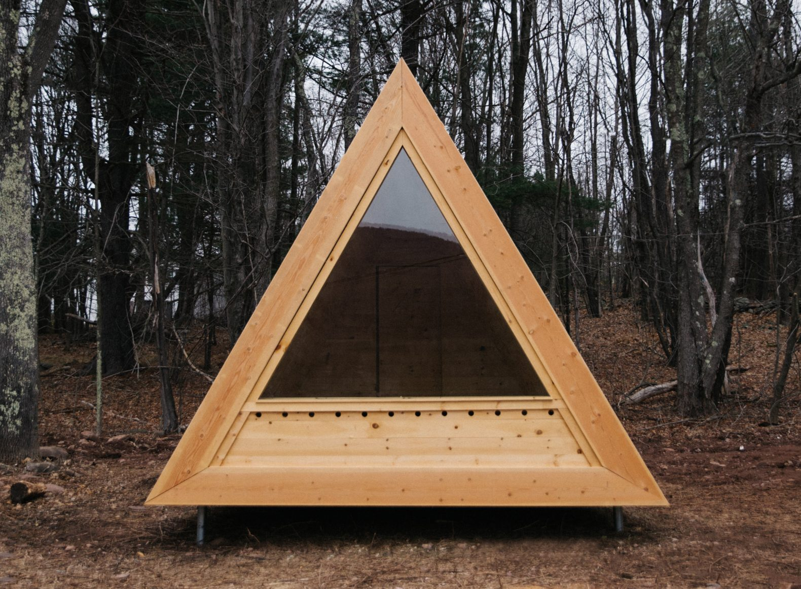 eastwind hotel offers tiny cabins for guests to disconnect in the catskills inhabitat green. Black Bedroom Furniture Sets. Home Design Ideas