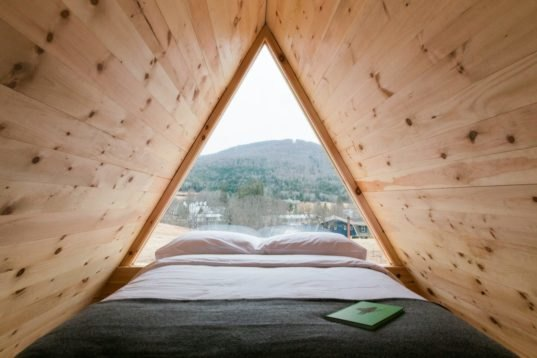 Eastwind Hotel Offers Tiny Cabins For Guests To Disconnect