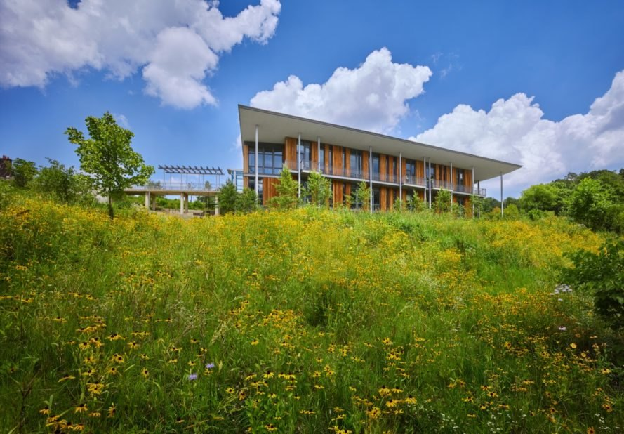The net-zero Frick Environmental Center is officially one of the worlds greenest buildings