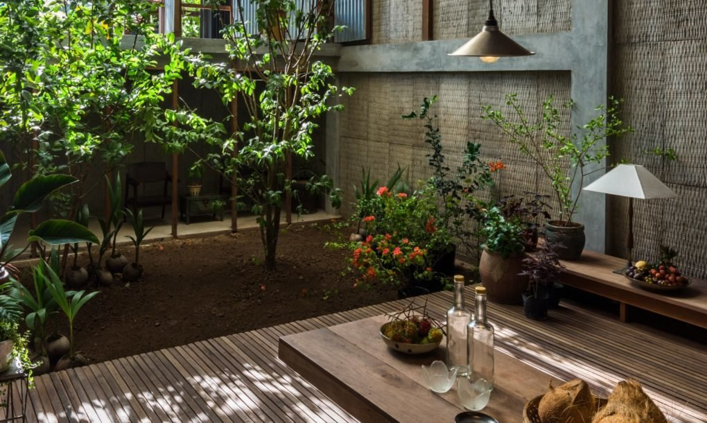 The natural light and fresh air help the plants found throughout the home thrive   inhabitant.com