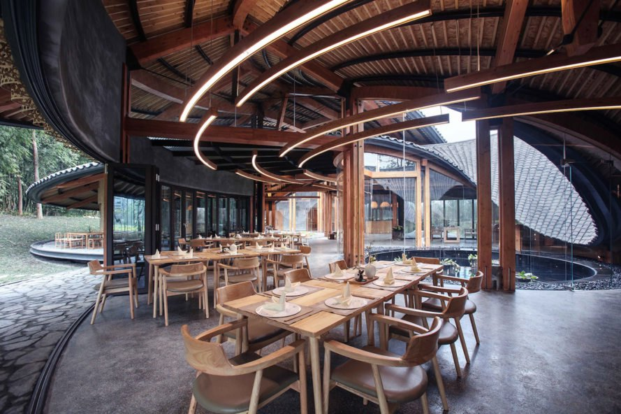 restaurant In Bamboo by Archi-Union Architects