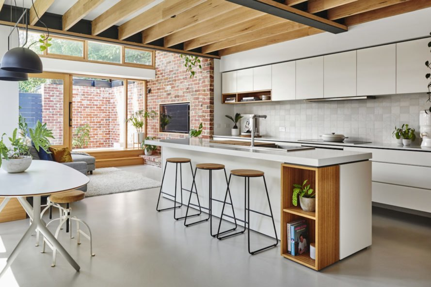 kitchen Melbourne Vernacular by Altereco Design