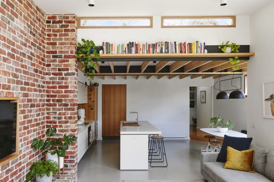 bookshelf Melbourne Vernacular by Altereco Design