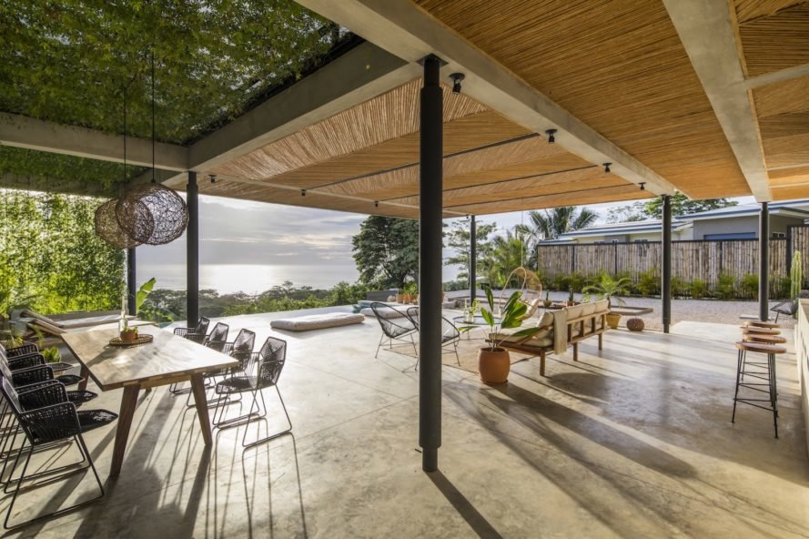 communal lounge Mint Santa Teresa by Studio Saxe