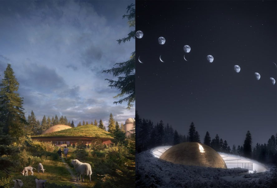 astronomy-inspired Norway Planetarium by Snøhetta