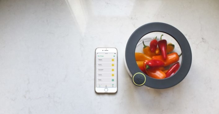 Ovie's 'Smarterware' smart food storage aims to help reduce food waste