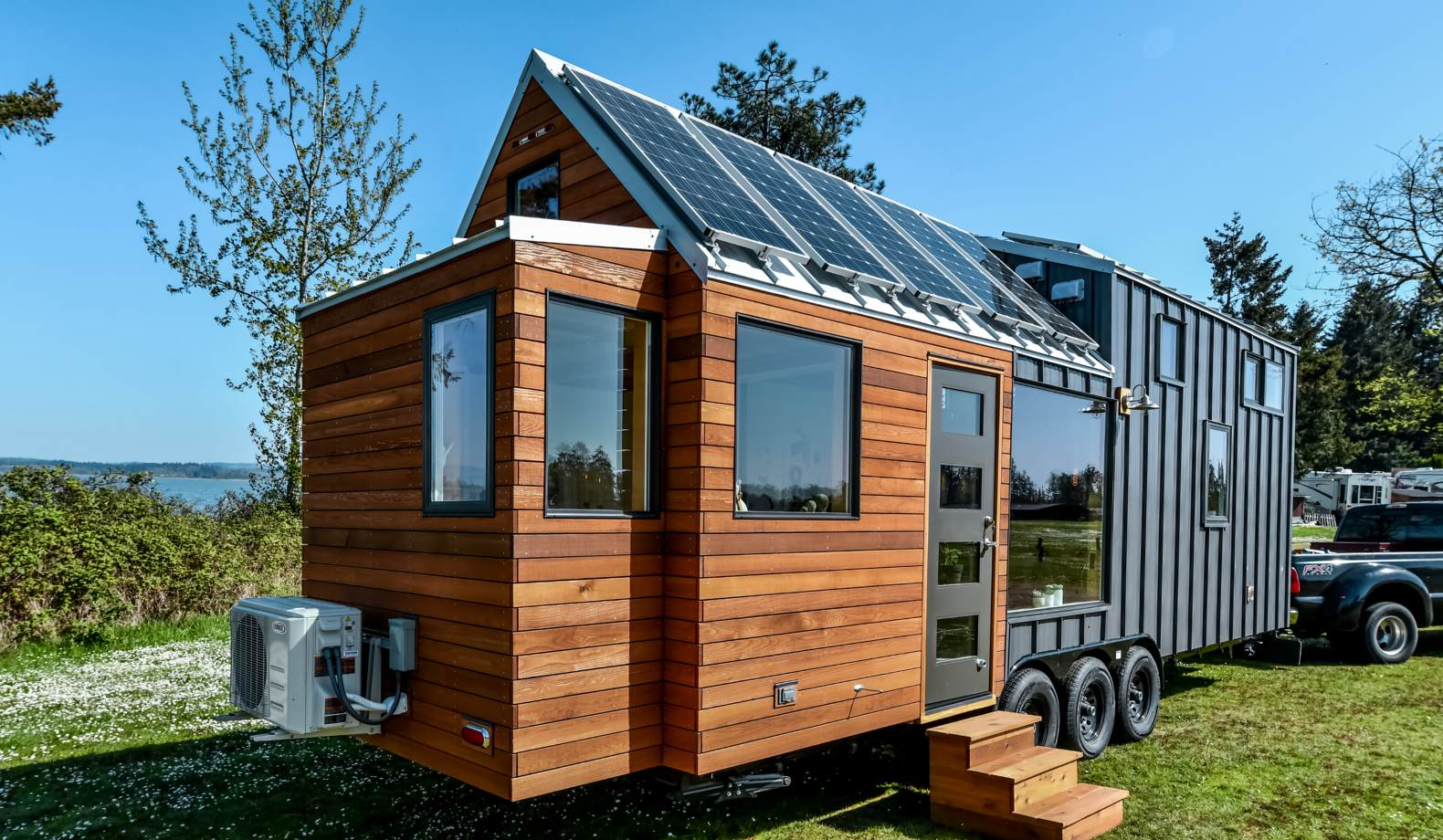 8 tiny homes built tough for off grid living. Black Bedroom Furniture Sets. Home Design Ideas