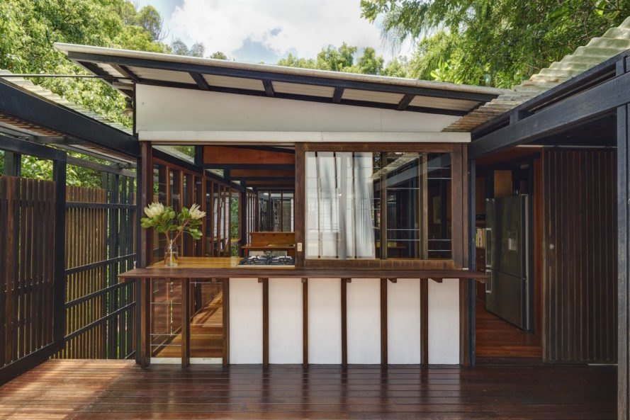 outdoor deck Rosebery House by Andresen O'Gorman Architects