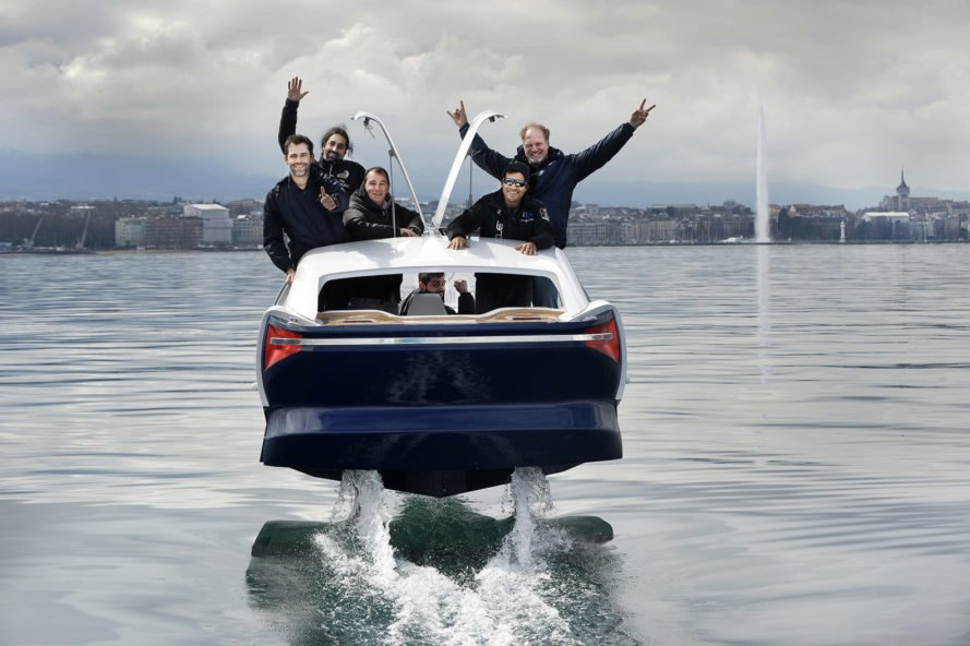 2nd version of the SeaBubble on Lake Geneva