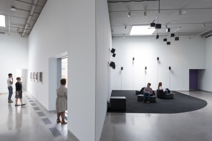 forking galleries at ICA