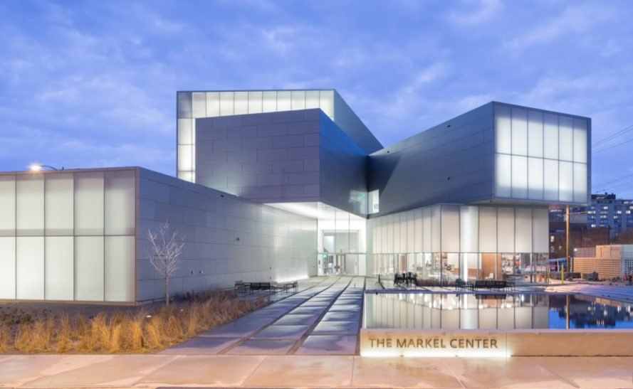 Steven Holl Architects LEED Gold-seeking museum is a beacon for sustainability