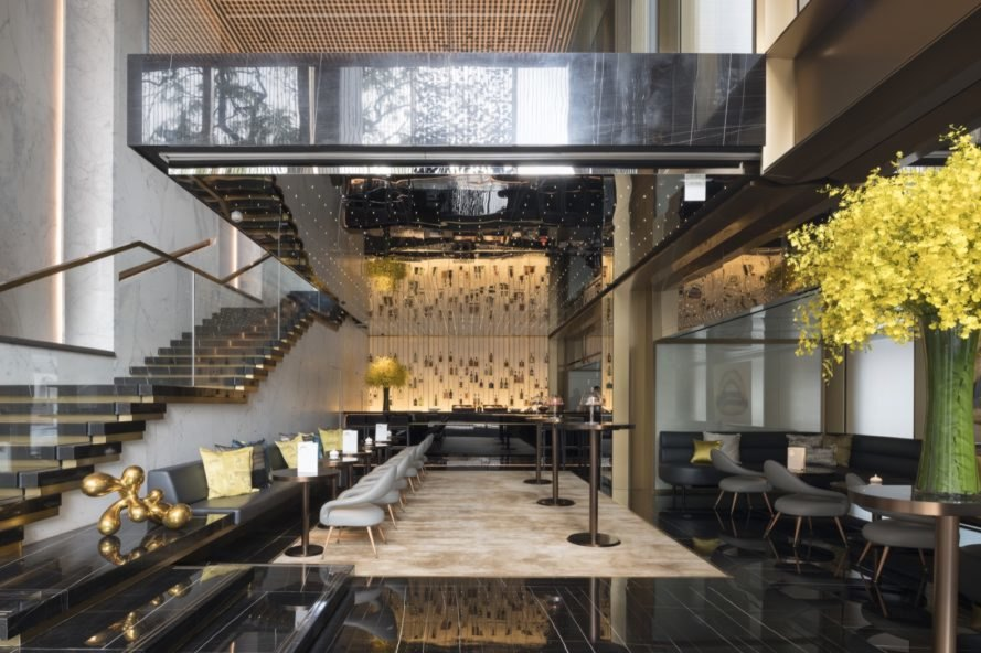 Foster + Partners turn an office tower into Hong Kongs newest luxury hotel