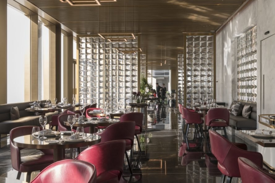 restaurant at The Murray by Foster + Partners