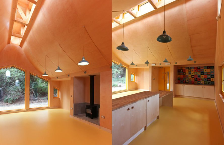 Kitchen space The Wooden Classroom by Studio Weave