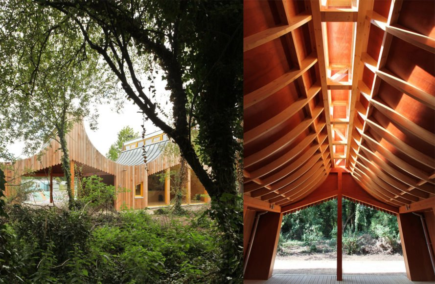 Interior The Wooden Classroom by Studio Weave