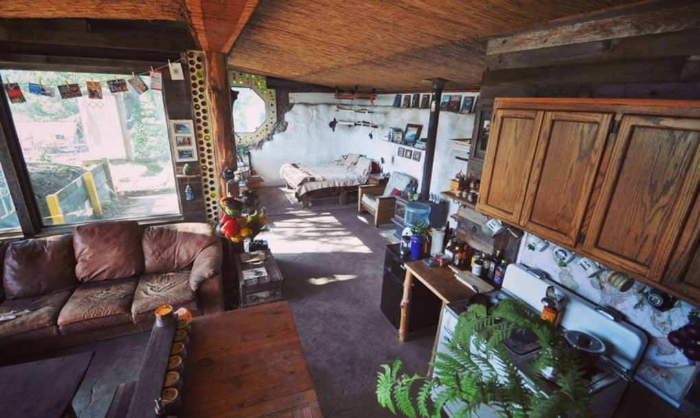 Couple Builds An Earthship Home For Less Than 10k