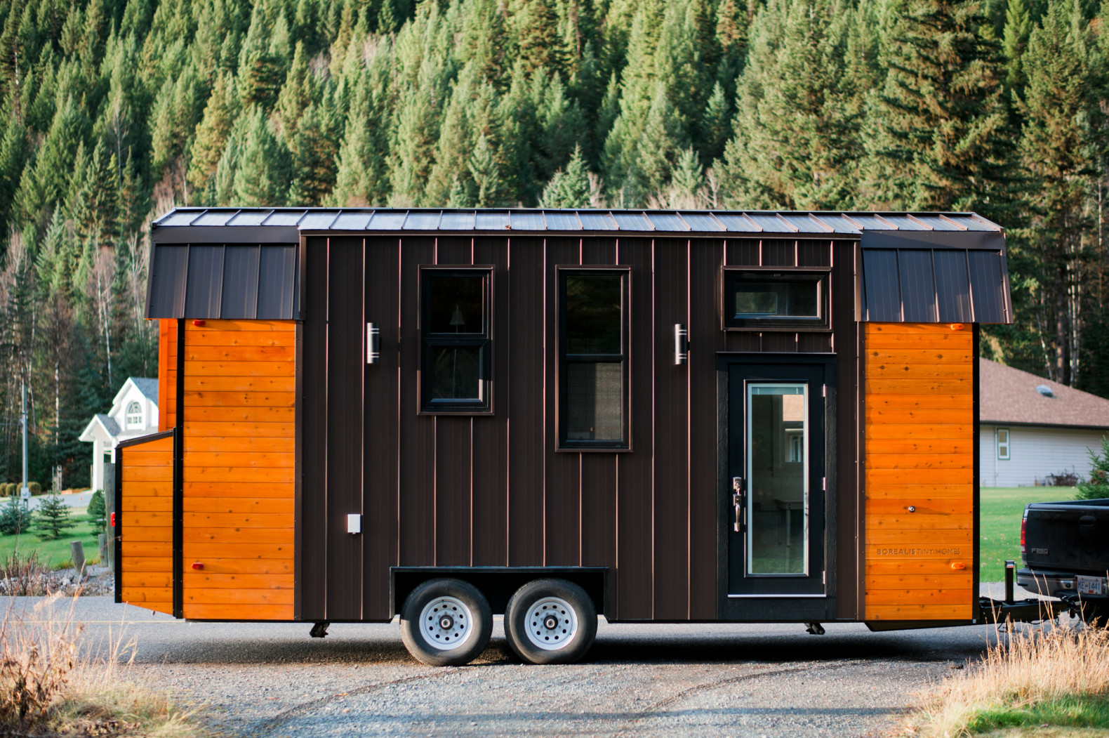 The energy-efficient Aspen tiny home is built tough to withstand Canadian winters