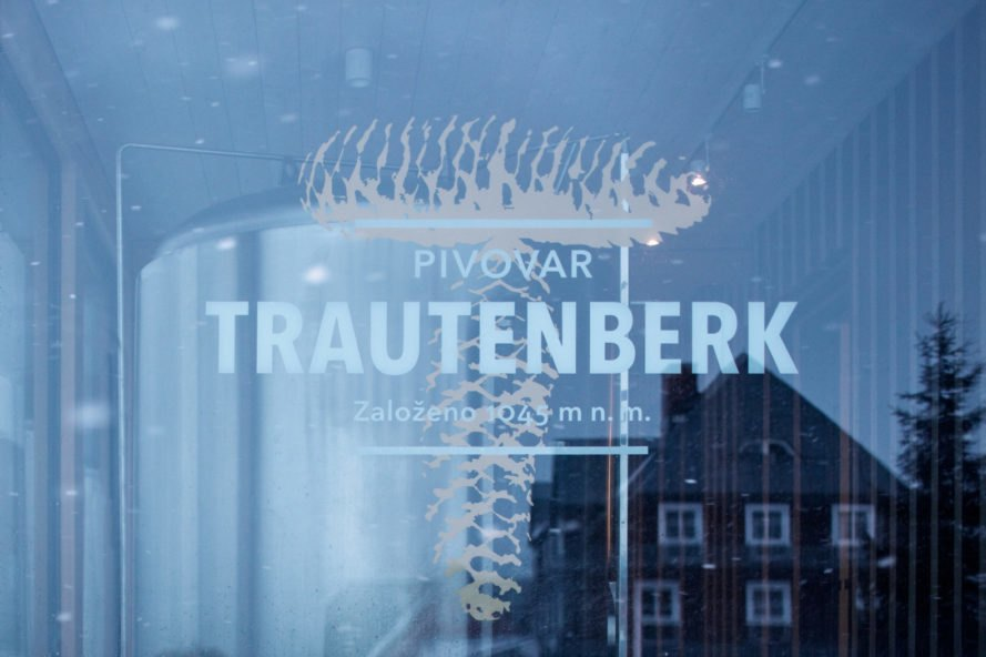 sign for Trautenberk Brewery