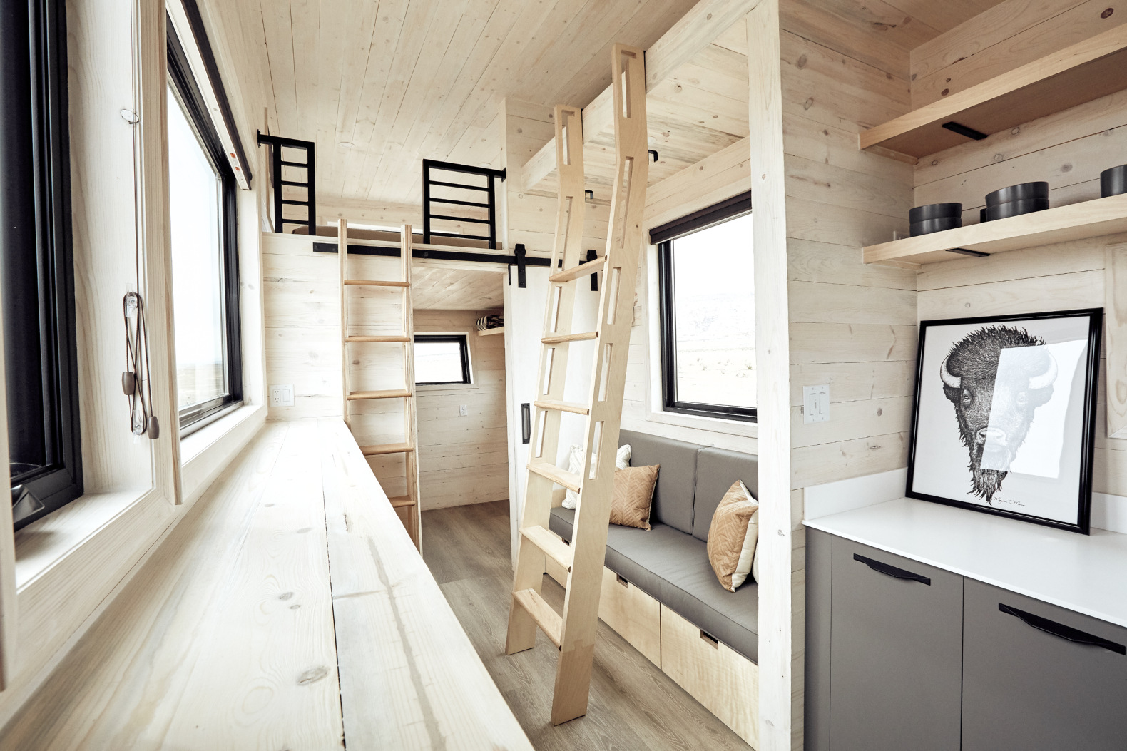 The Ship Inspired Land Ark Tiny House Has A Surprising