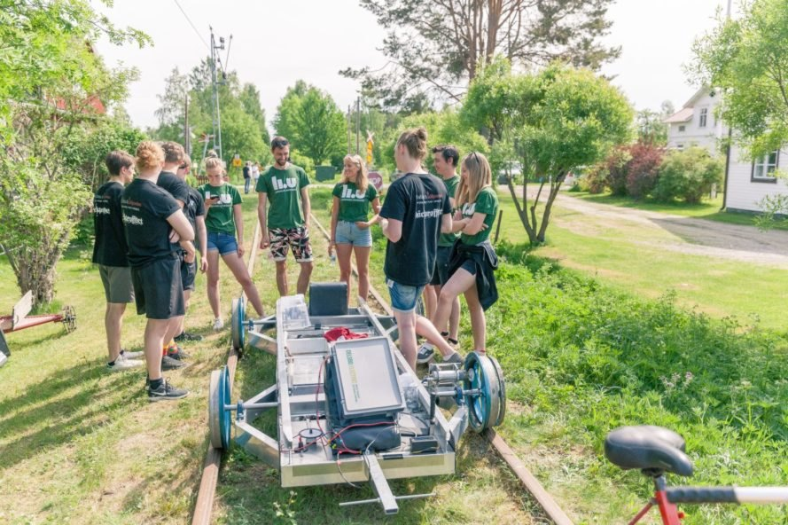 ACUS IV at the Delsbo Electric 2018 competition