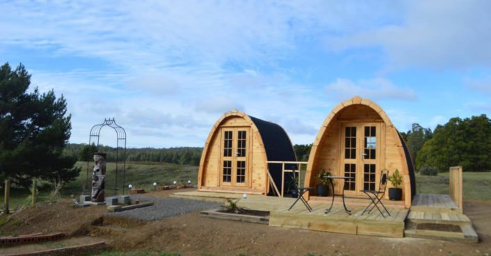 photo of These ultra-durable camping pods are inspired by Quonset huts image
