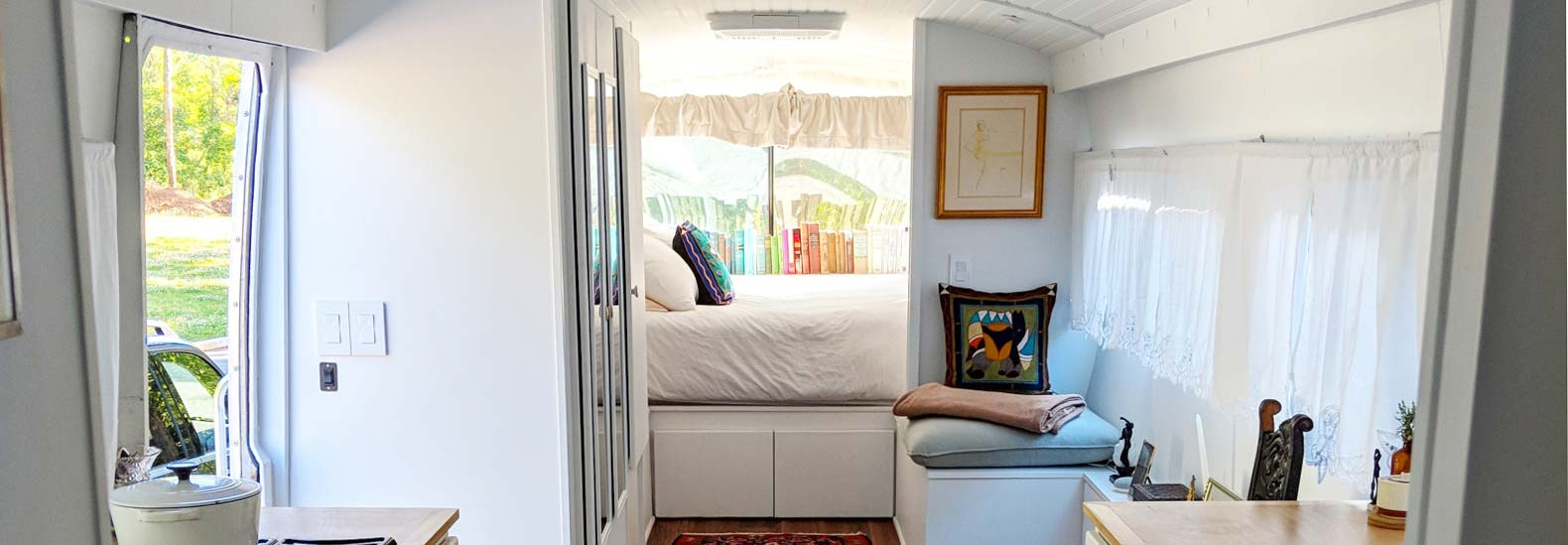 Old Greyhound Bus Converted Into Gorgeous Tiny House On Wheels