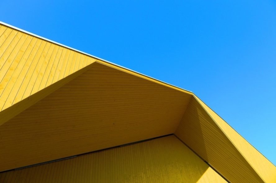 close up of roof