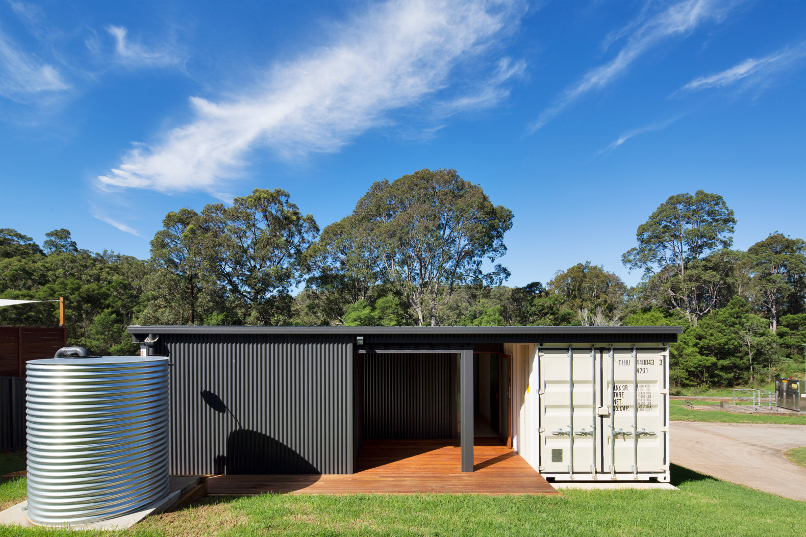 These Four Shipping Containers Form An Eco Friendly Home