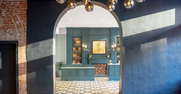 photo image Historic warehouses transformed into a swanky boutique hotel in New Orleans