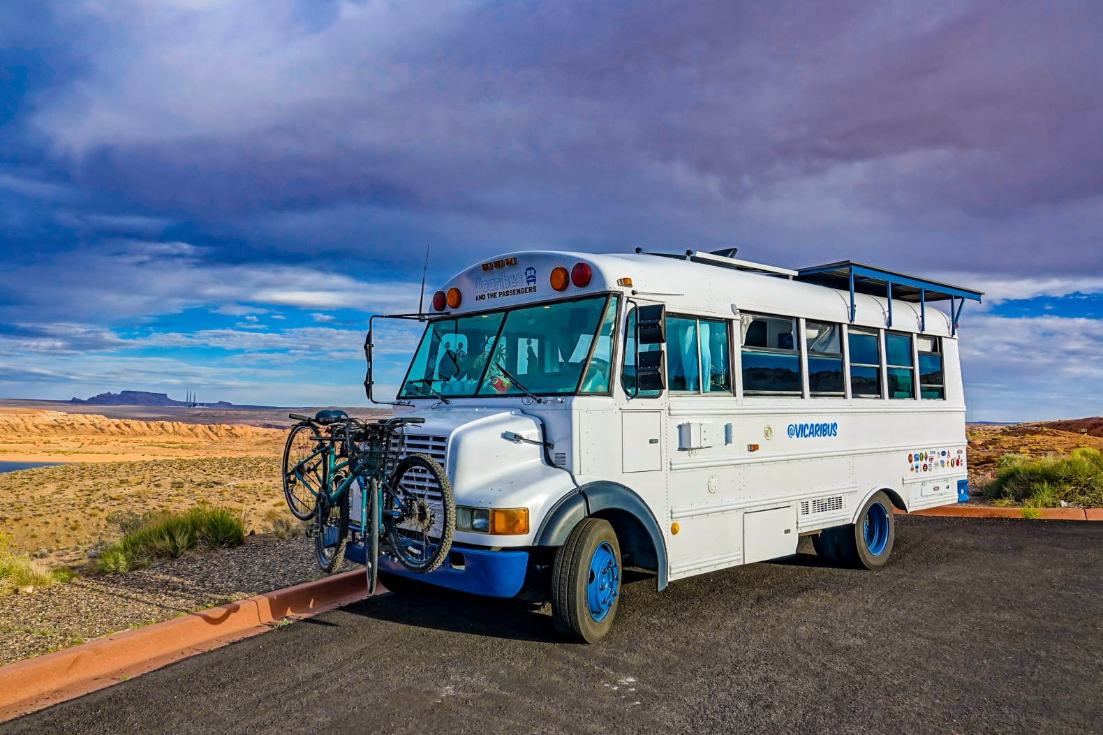 Couple convert a 20-year-old bus into a solar-powered tiny home on wheels