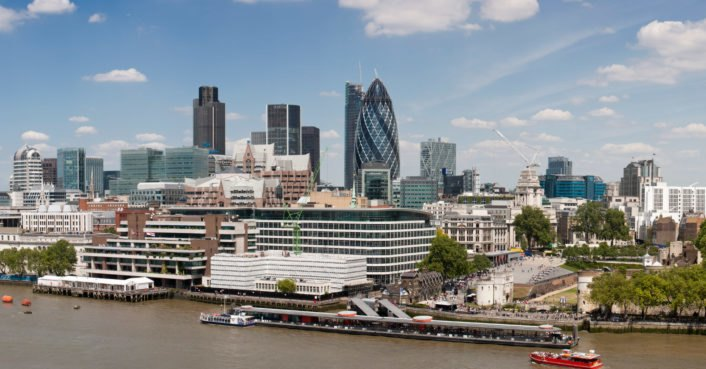 The City of London will be powered with 100% renewable energy by October 2018