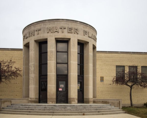 Exterior of Flint Water Plant