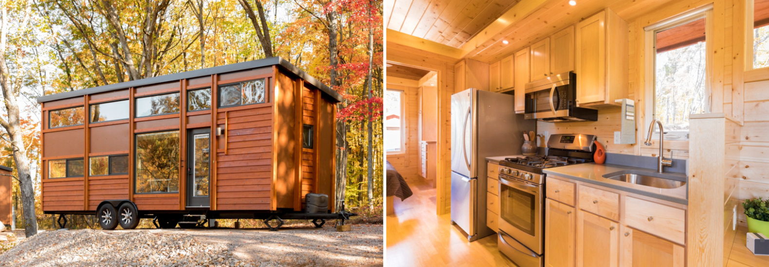 Tiny home resort opens in idyllic Wisconsin forest setting