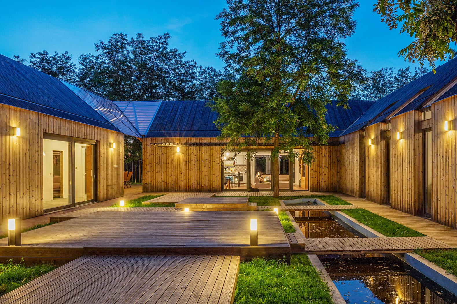 Award-winning Hungarian home combines old-world charm with modern style