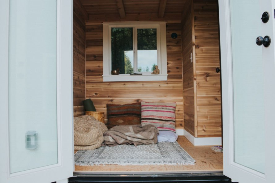 interior shot of tiny home interior