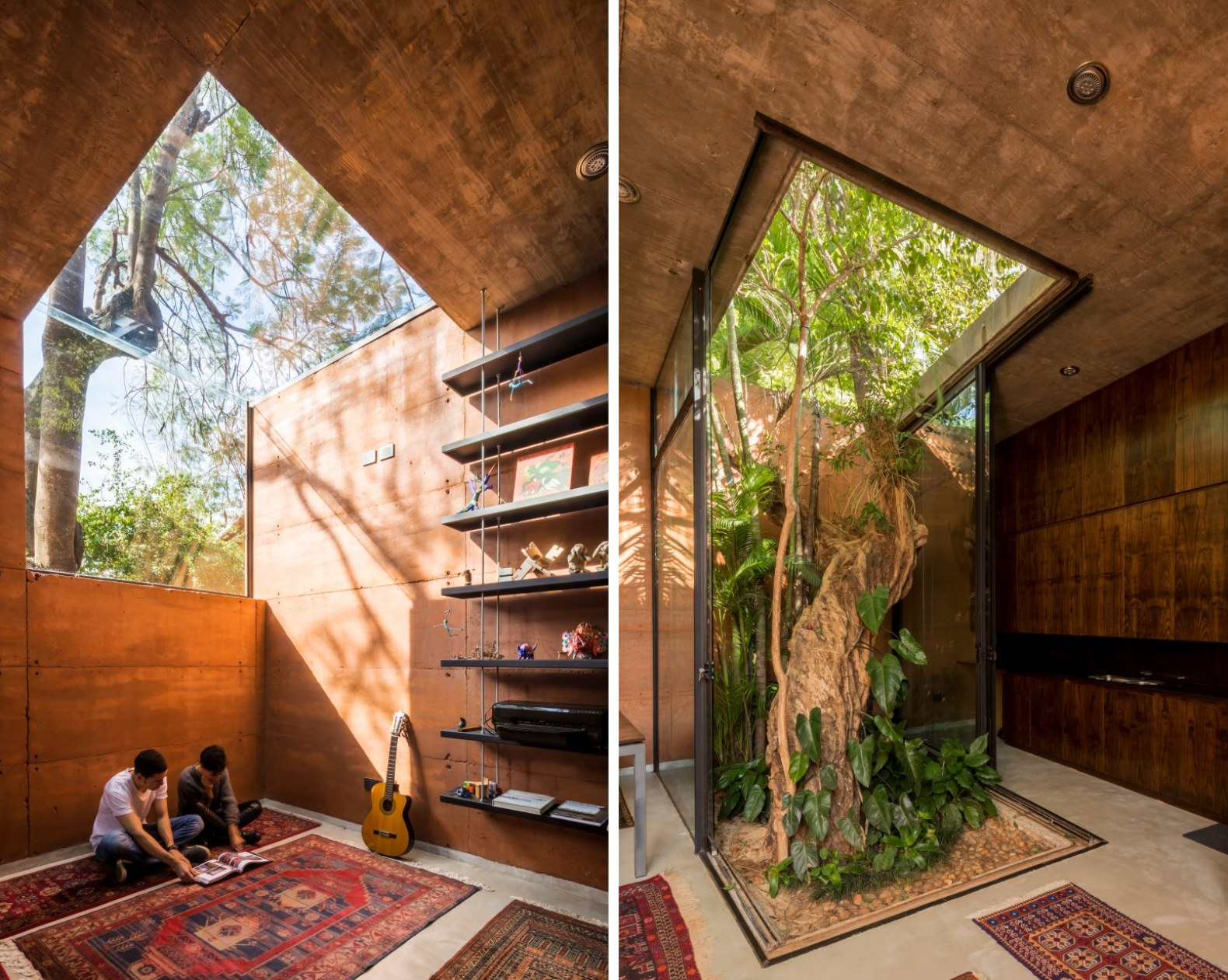 Architects build their own rammed-earth office around ... on from the earth homes, mini earth homes, geo earth homes, old earth homes, the earliest rammed earth homes, earth built homes,