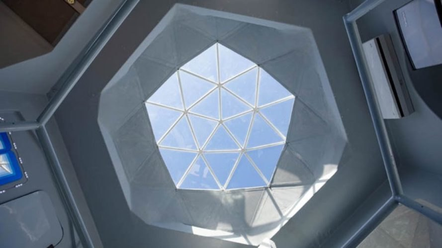 geodesic dome skylight