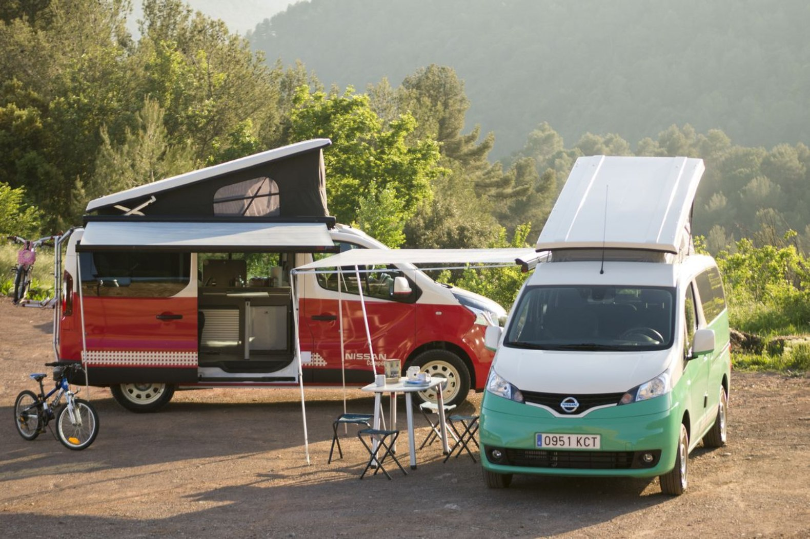 Nissan Debuts Pop Top And Fully Electric Camper Vans