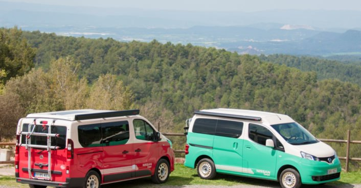 Nissan debuts pop-top and fully-electric camper vans for summer adventures