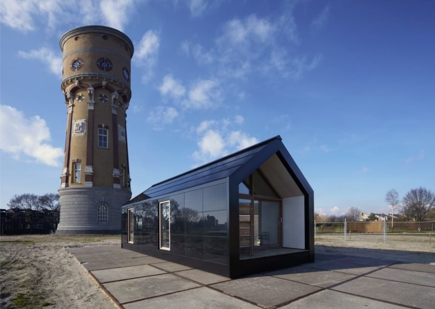 This self-sufficient tiny house is designed to pop up anywhere