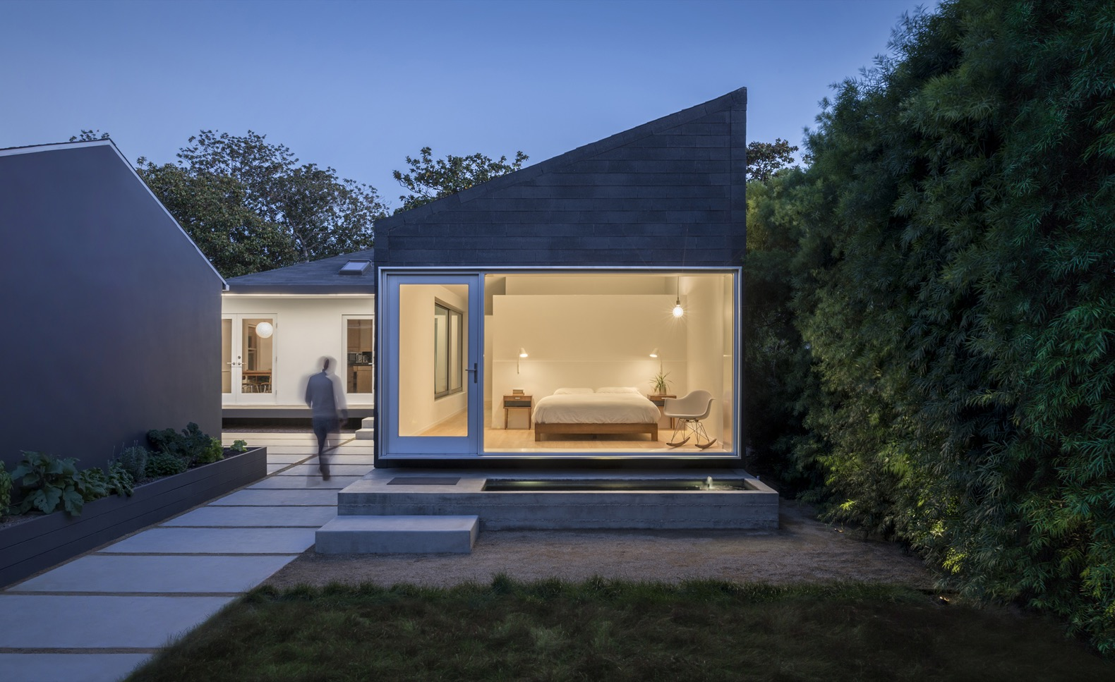 An old bungalow is transformed into an award-winning home with a modern extension