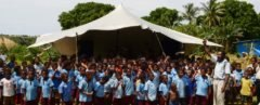 School-in-a-Box brings the gift of learning to children in Papua New Guinea